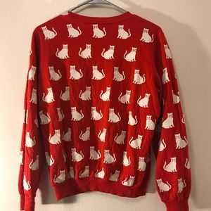 Sweaters - Vintage cat sweater